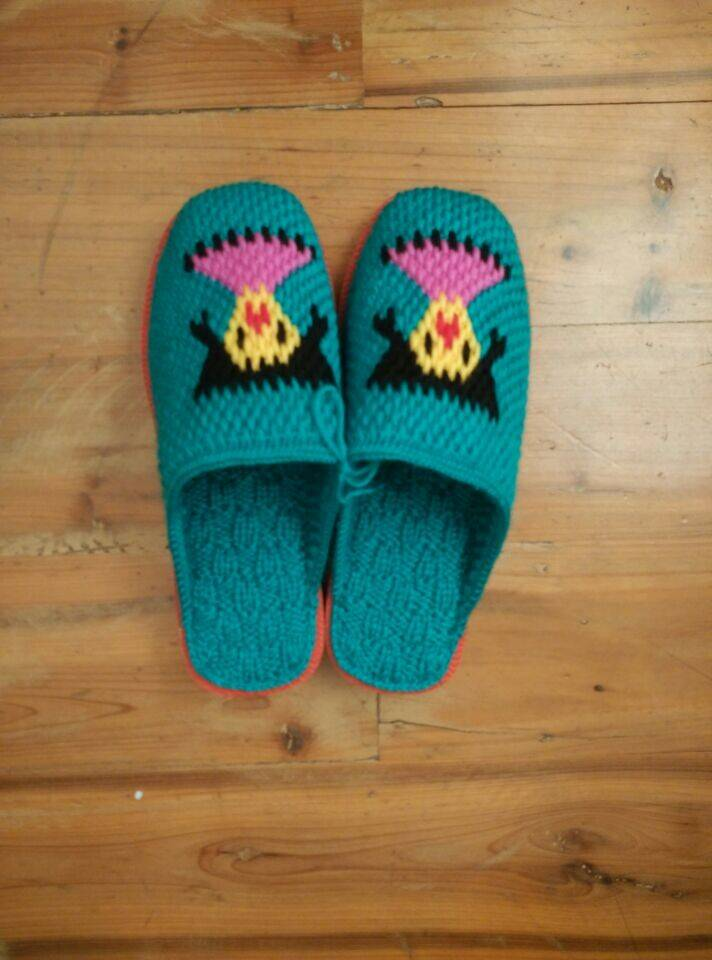 Fine wool Slippers-6