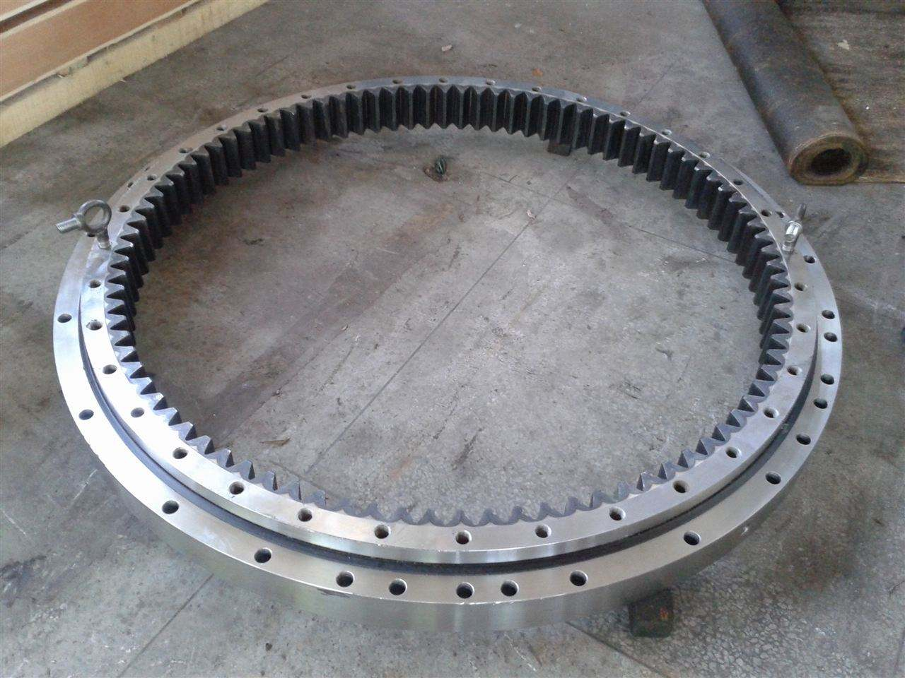42CrMo forging crane slewing bearing ring