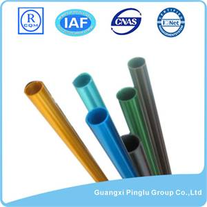 Structural Thin Wall Round Extruded Aluminum Tube