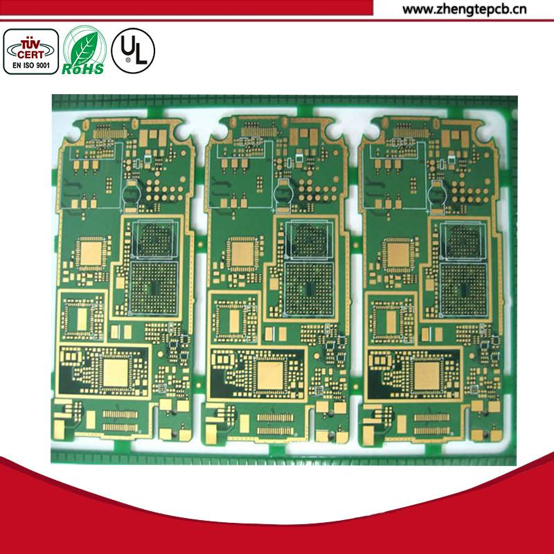 FR4 TG 170 4 layer immersion gold communication pcb factory