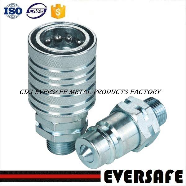 ISO 5675 STANDARD PUSH AND PULL TYPE HYDRAULIC QUICK RELEASE COUPLING FOR AGRICULTURAL MACHINERY