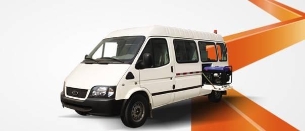 CCTV  Inspection Vehicle WX5030XJC