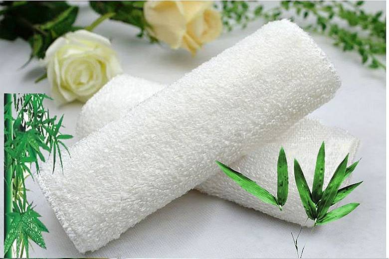 Kitchen cleaning cloth,bamboo fiber dishcloth
