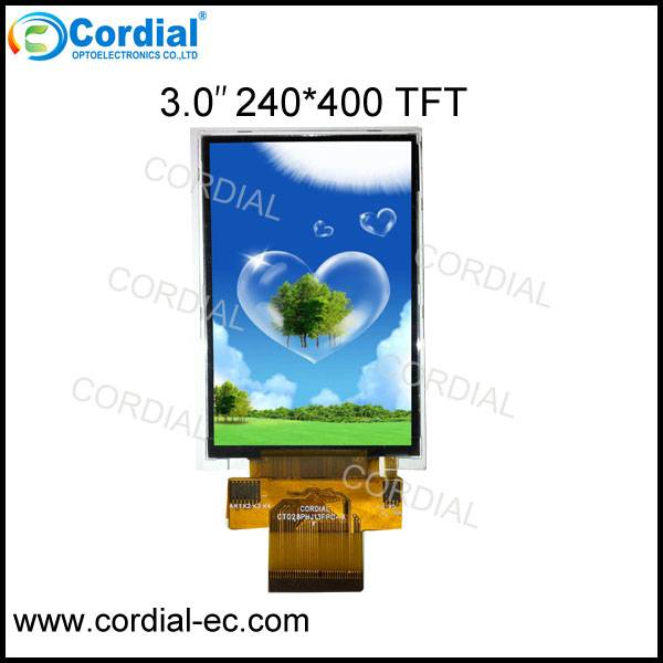 3.0 inch 240x400 TFT LCD MODULE CT030BHK18