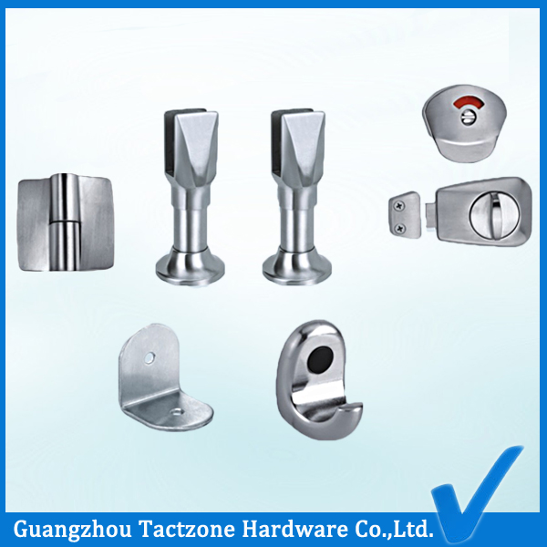 Best Quality Toilet Partition Cubicle Stainless Steel Accessories Set