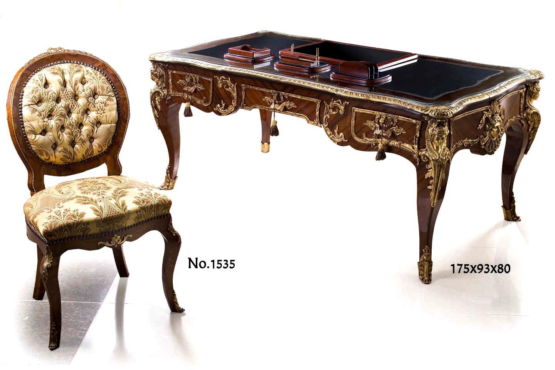 French Regency Leon Kahn and Charles Cressent style Presidential Bureau Plat