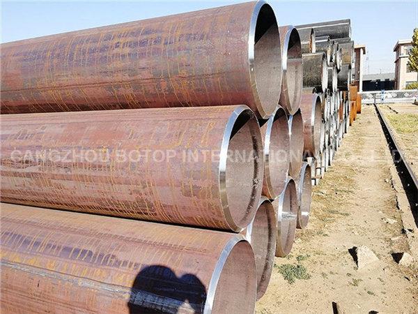 BS EN10210 S275J0H LSAW(JCOE) Steel Pipe