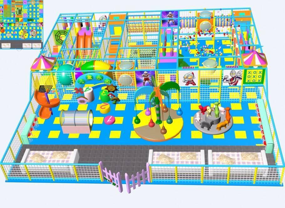 indoor soft playground
