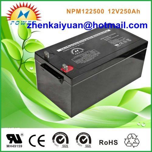 lead acid /sealed /ups/solar/ battery12V250Ah