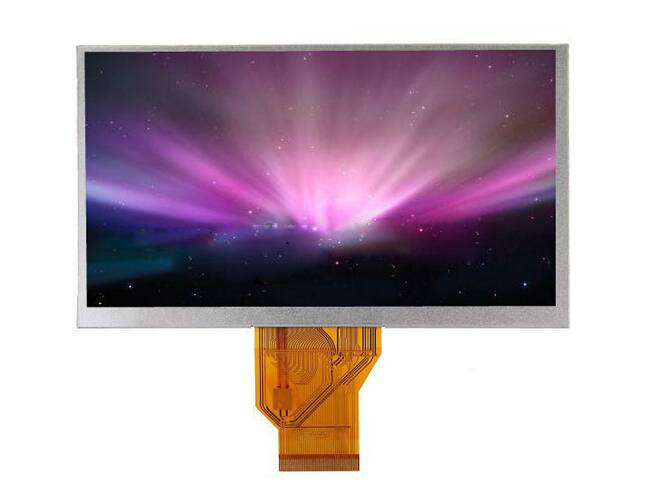Factory Price Customized 6.5 inch 800x320 tft lcd display module with 12 oclock and RGB interface