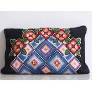Needlepoint Pillows, Stitched Throw Pillow Cases
