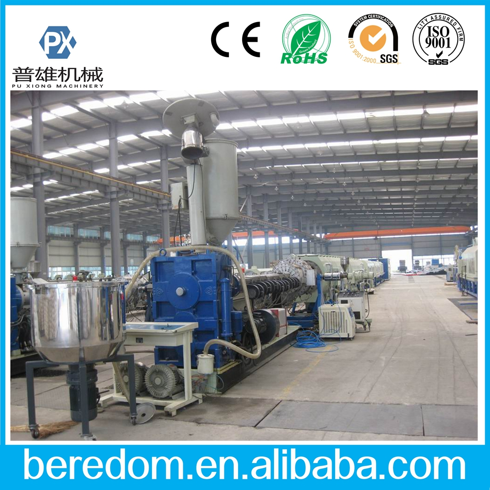 16mm-630mm PE pipe making machine