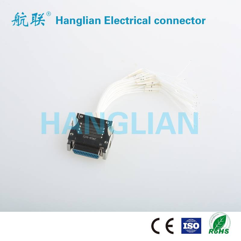 J30J Series Microminiature Plug Electrical Connector