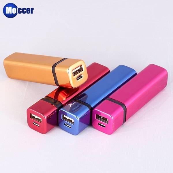 Hot sell 2600mah portable alloy power bank