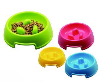 Automatic Pet Dog Water Dispensed Feed Bowl Prevent choking bowl