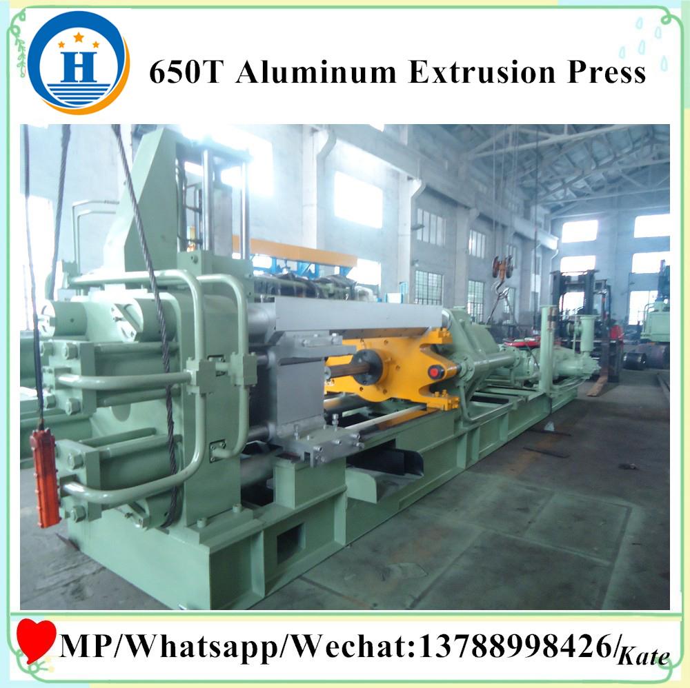 machines made from aluminium / production of aluminum line