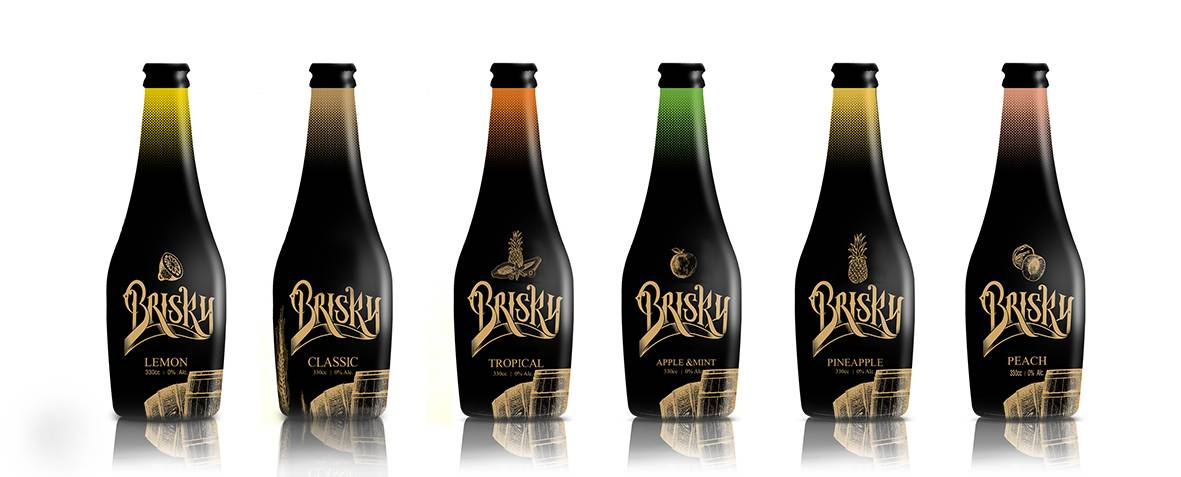 Elphy non-alcoholic Brisky beer