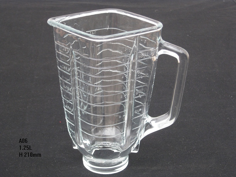 4655 classic blender replacement spare parts square glass jar vasos de vidrio