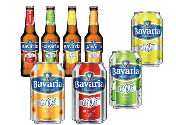 Bavaria Premium Malt non-alcoholic and Alcoholic