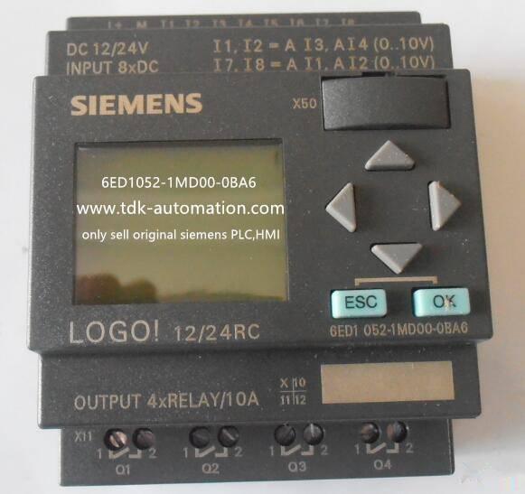 siemens LOGO, SIMATIC LOGO PLC.6ED1052-1MD00-0BA6