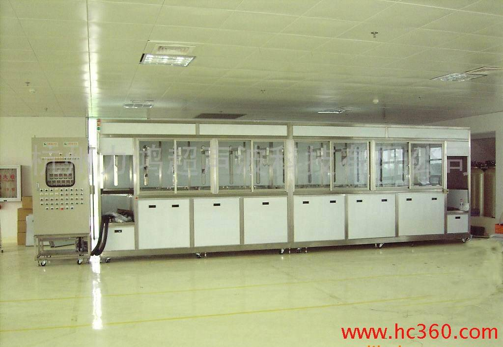 Ultrasonic Cleaning Line Nickel Plating Machine for degreasing