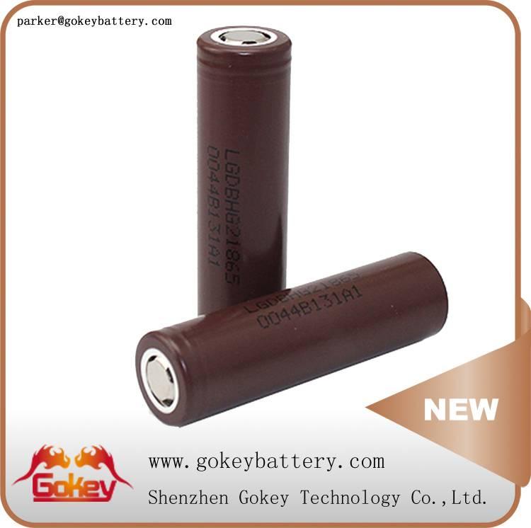 LG HG2 3000MAH 3.7V 20A LI-ION 18650 lithium ion battery