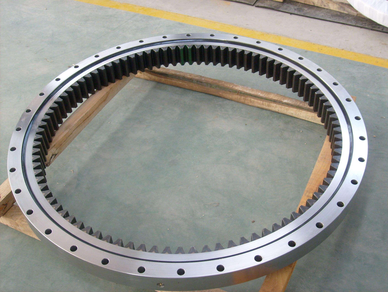 Slewing bearing ring for bucket wheel excavator