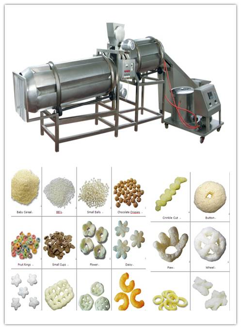 popular puffed snack production line