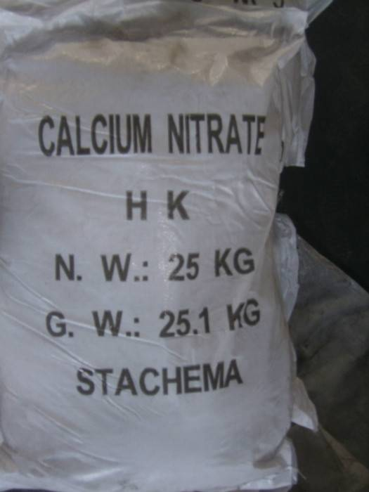 Calcium Nitrate nitrogen fertilizer agriculture high calcium 100% soluble