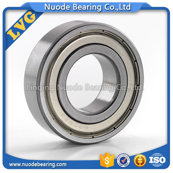 Chrome Steel Deep Groove Ball Bearing 6205 zz