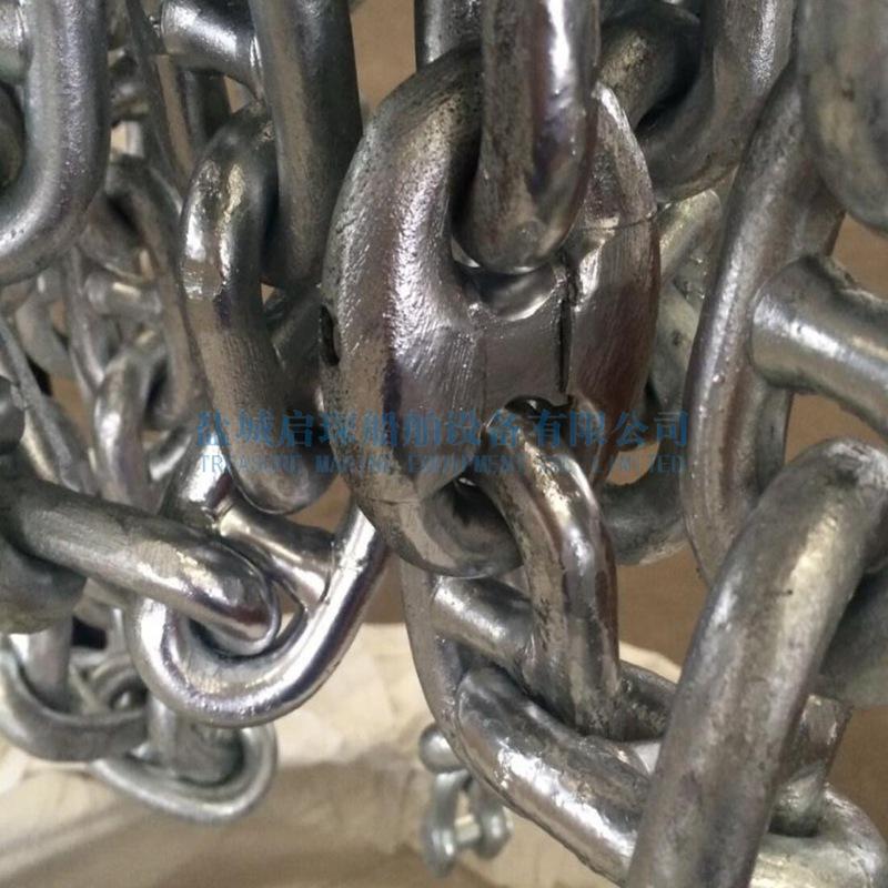 Galvanized stud chain/ marine anchor chain made in China
