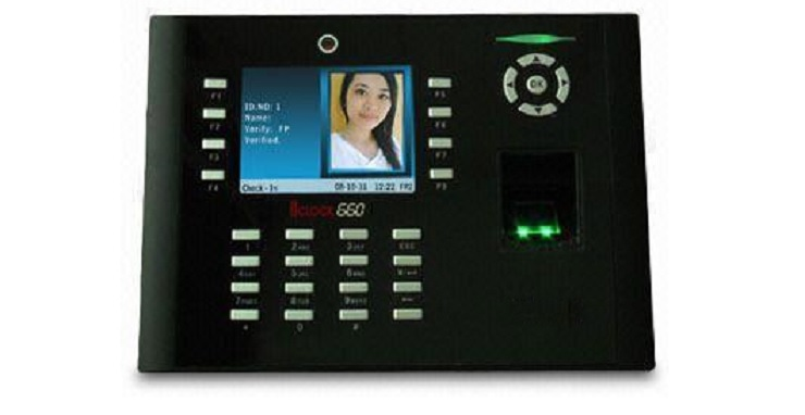 iclock660 fingerprint time attendance and access control
