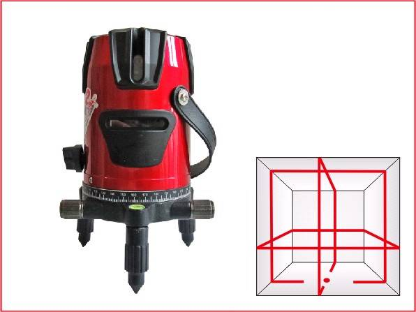 8 lines cross line laser level