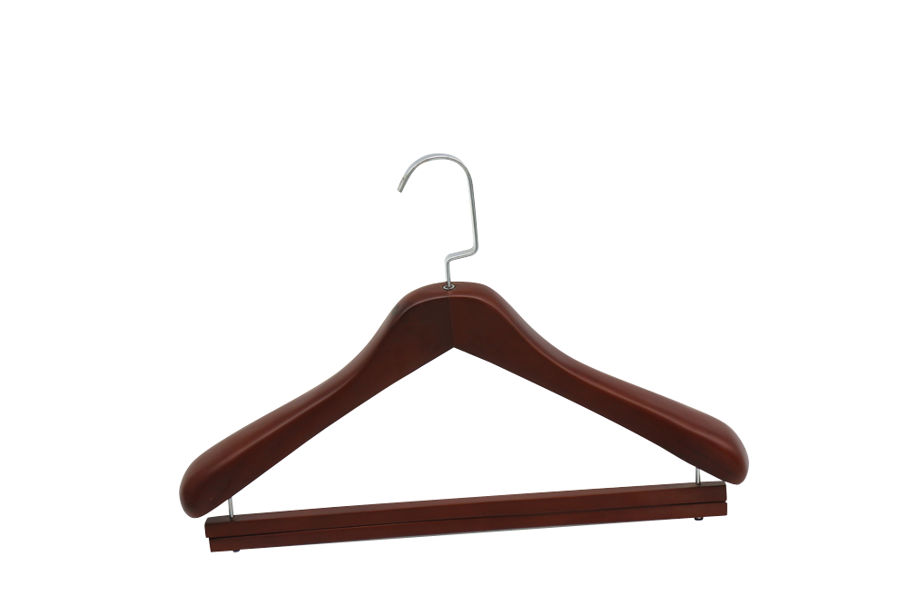 Germany Nuernberg wooden suit hanger with clothes hanger bar