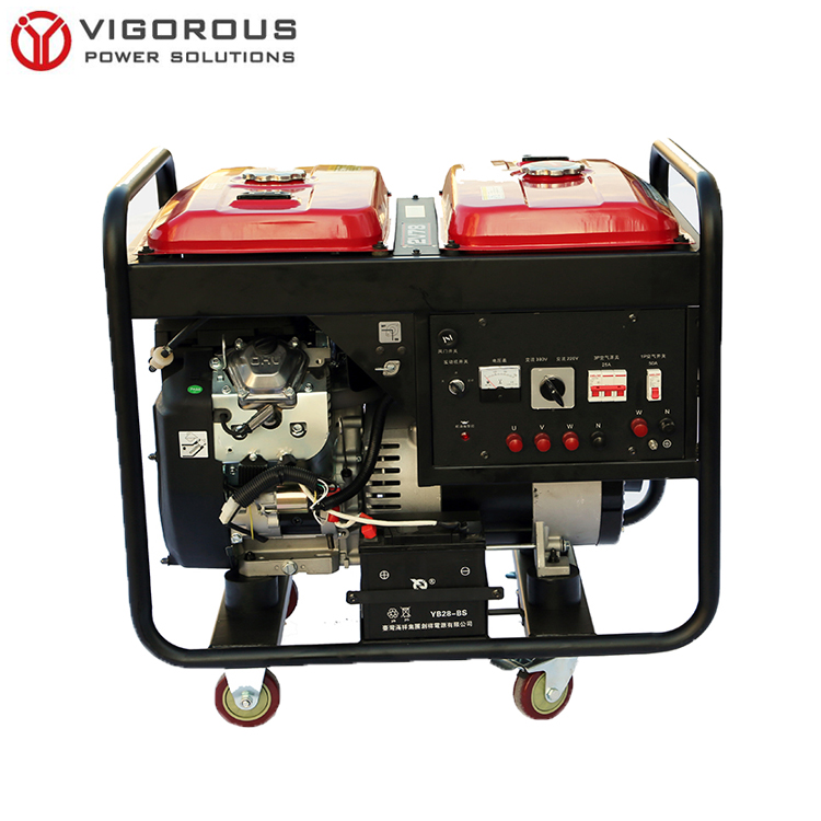 Double Fuel Tank Large Fuel Capacity Gasoline Generator for home backup