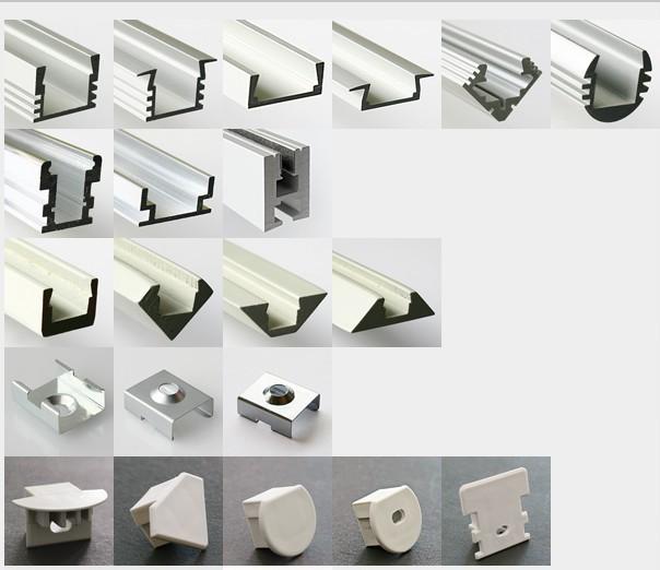 Mounted LED Aluminium Profile in Furniture Manufacturing