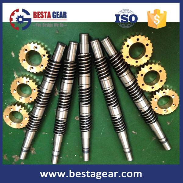 Types of gears warm gear worm wheel manufacturer