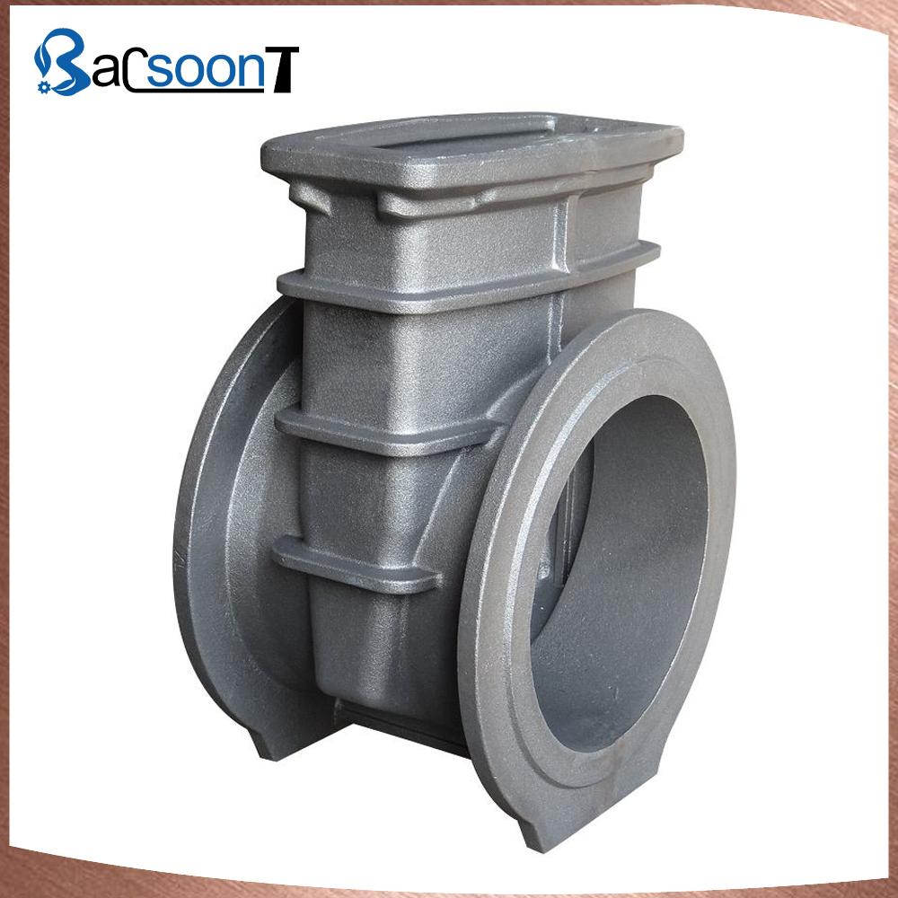 Custom sand casting sluice valve with CNC machining