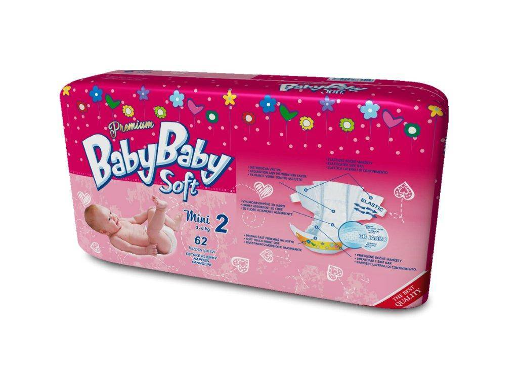 Baby diapers , made in EU Slovakia