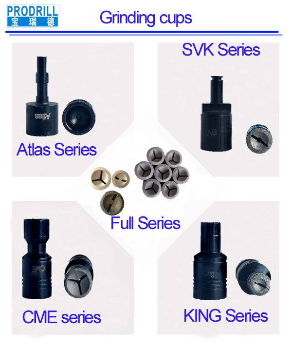 diamond grinding cup for drill bits