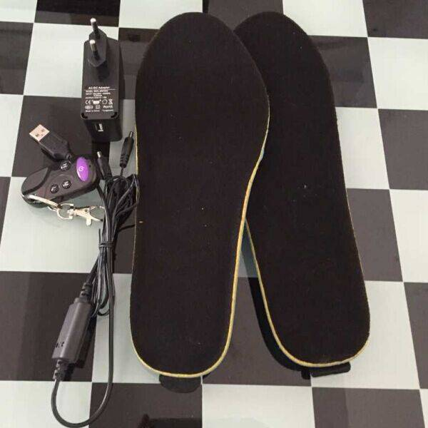 Chargeable Heating Moldable Insole With Battery Heated Insoles