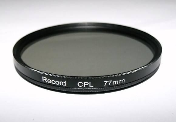 77mm CPL filter camera CPL filter
