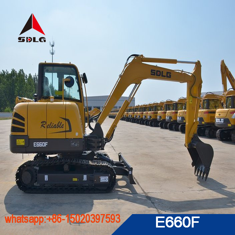 SDLG 6T mini excavator LG660E E660F with best quality for sale