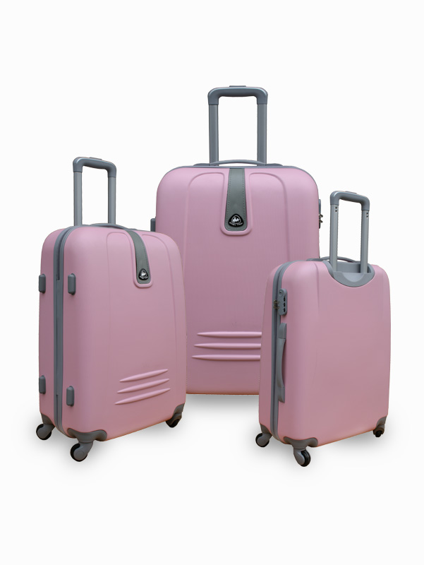ABS TROLLEY LUGGAGE SET SUITCASE BAG
