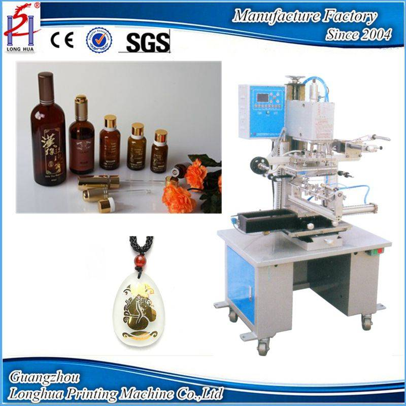Flat and curved shapes hot foil stamping machine LH-6B