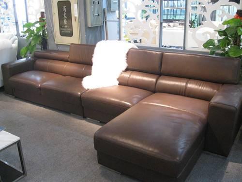 ganuine leahter sofa