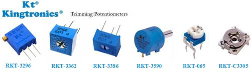 Kt Kingtronics Produce High Quality Trimming Potentiometer
