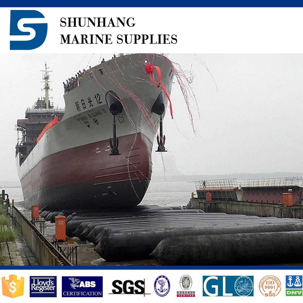 ship raise marine lifting rubber airbag