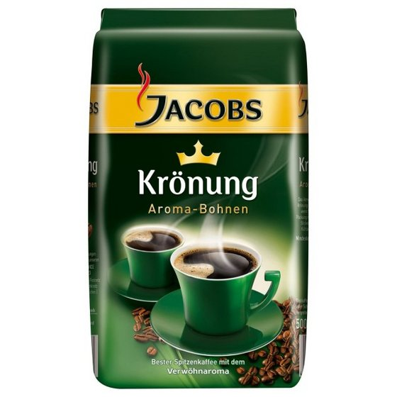 Jacobs Kronung Coffee - Original Fresh German Ground Coffee