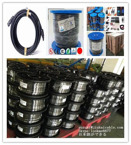 tuv 2x4mm2 solar cable/2x6mm2 solar cable/10mm2 dc solar cable/pv1-f 16mm2 solar cable